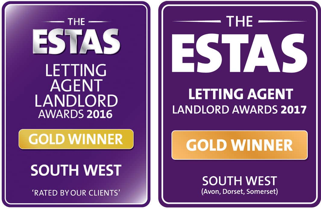 ESTAS Gold Award for Lettings Agents SouthWest